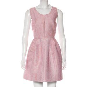 VIVETTA Pink Sleeveless Fit Flare Italian Dress